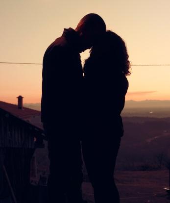 dawn-sunset-couple-love